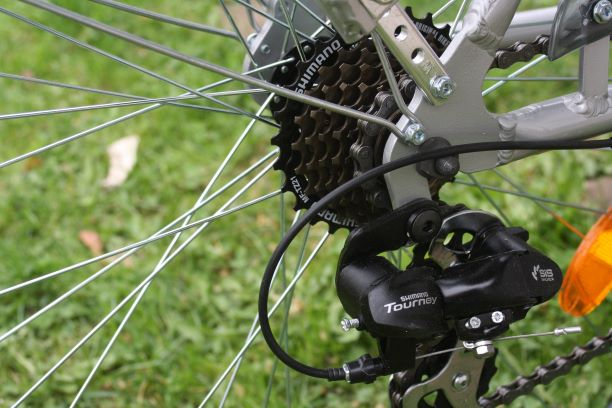 rear derailleur, gears, course, chain, bicycle chain, bike, shimano